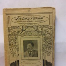 Libros de segunda mano: STQ.JOAQUIM RUYRA.JACOBE.LECTURA POPULAR.BRUMART TU LIBRERIA.. Lote 159927930