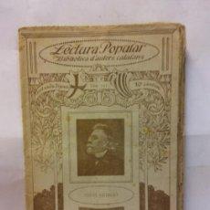Libros de segunda mano: STQ.ANGEL GUIMERA.VERS Y PROSA.LECTURA POPULAR.BRUMART TU LIBRERIA.. Lote 159928058