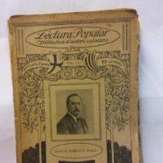 Libros de segunda mano: STQ.RAMON SURINACH.IMPREMEDITACIO.LECTURA POPULAR.BRUMART TU LIBRERIA.. Lote 159929990