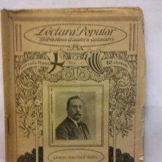 Libros de segunda mano: STQ.RAMON SURINACH.IMPREMEDITACIO.LECTURA POPULAR.BRUMART TU LIBRERIA.. Lote 159930962