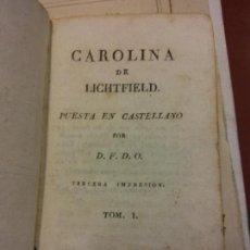 Libros de segunda mano: STQ.CAROLINA DE LICHTFIELD.PUESTA EN CASTELANO.EDT, BARCELONA.BRUMART TU LIBRERIA.. Lote 159934282