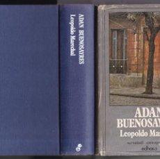 Livres d'occasion: ADAN BUENOSAYRES - LEOPOLDO MARECHAL - EDHASA EDITORIAL 1981. Lote 160016426