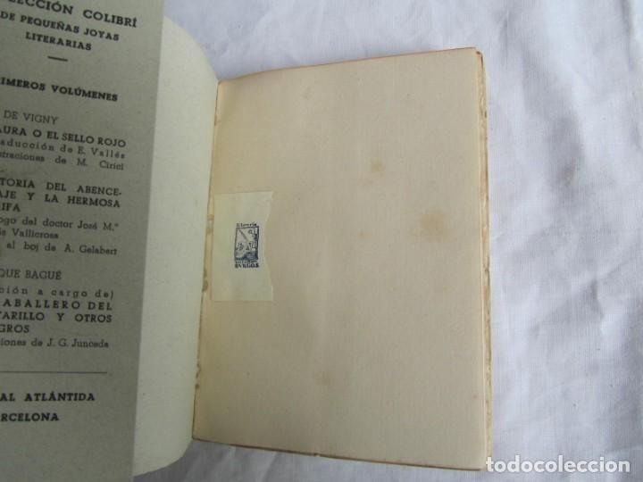 Libros de segunda mano: Historia del Abencerraje y la hermosa Jirafa. Colección Colibrí 1941 - Foto 5 - 160356750