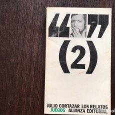 Libros de segunda mano: JULIO,Ç CORTÁZAR. RELATOS 2. Lote 160366812