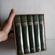Libros de segunda mano: MEMORIAS, GIACOMO CASANOVA. AGUILAR. 5 TOMOS EN ESTUCHE. Lote 160409402