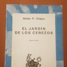 Libros de segunda mano: EL JARDÍN DE LOS CEREZOS (EDITORIAL ESPASA CALPE S.A). ANTÓN P. CHÉJOV 1979. Lote 192378863