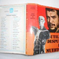 Libros de segunda mano: CARLOS MANUEL PELLECER UTILES DESPUES DE MUERTOS Y93661. Lote 161097626