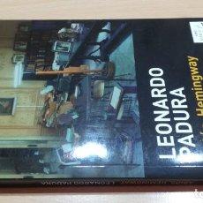 Libros de segunda mano: ADIOS HEMINGWAY / LEONARDO PADURA/ MAXI TUSQUETS/ / F402. Lote 161172042