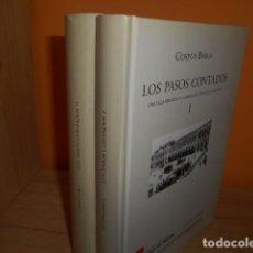 Libros de segunda mano: LOS PASOS CONTADOS / CORPUS BARGA / 2 TOMOS / VISOR LIBROS. Lote 161466230