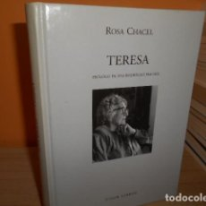 Libros de segunda mano: TERESA / ROSA CHACEL / VISOR LIBROS. Lote 161466742