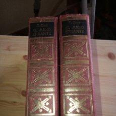 Libros de segunda mano: EL JUDÍO ERRANTE. EUGENIO SUE. Lote 161535436