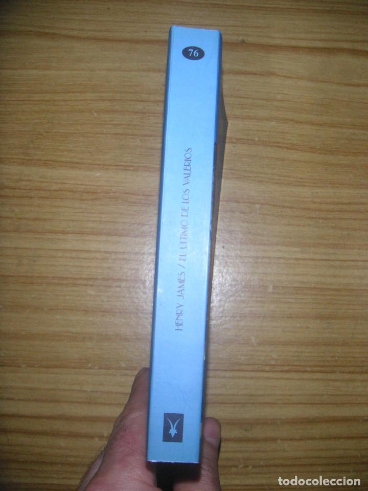 Libros de segunda mano: El último de los Valerios y otros cuentos (Henry James) Valdemar Club Diógenes nº 76 - 1ª edición - Foto 3 - 161854074