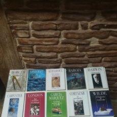 Libros de segunda mano: LOTE DE 14 NOVELAS RELATOS BREVES ALIANZA 100 AÑOS 90. Lote 149589206