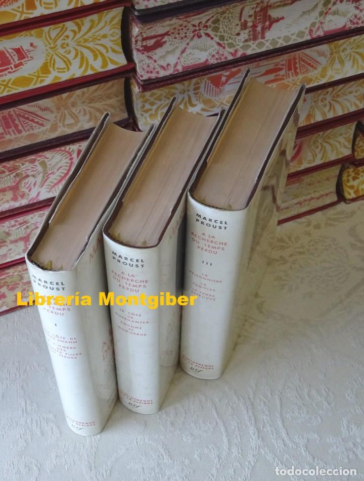 Libros de segunda mano: A LA RECHERCHE DU TEMPS PERDU . ( 3 Tomes ) . Autor : Proust, Marcel - Foto 2 - 161881638