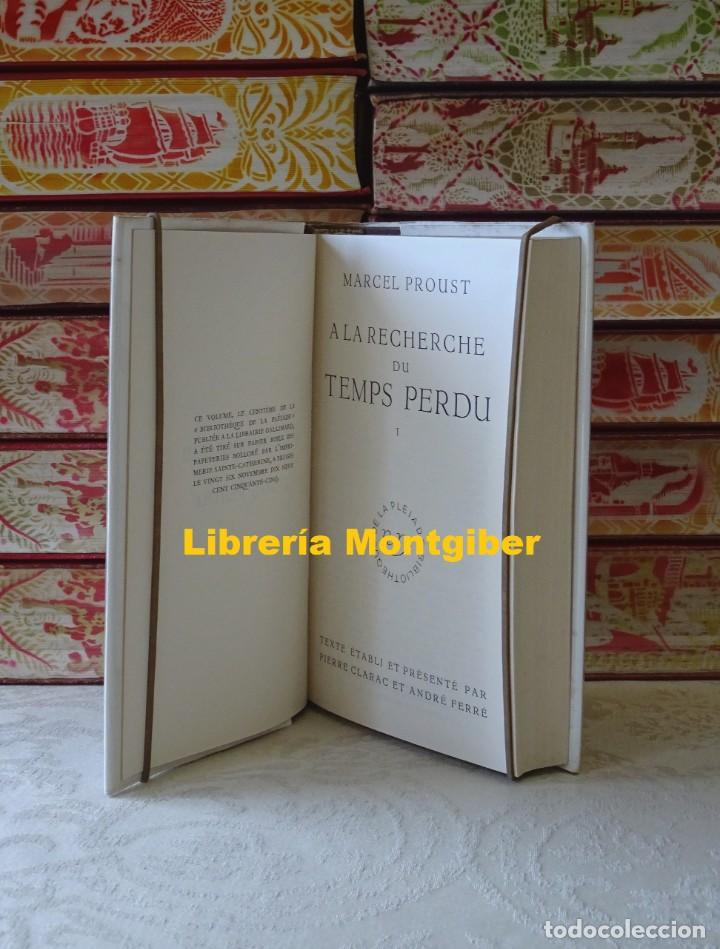 Libros de segunda mano: A LA RECHERCHE DU TEMPS PERDU . ( 3 Tomes ) . Autor : Proust, Marcel - Foto 5 - 161881638
