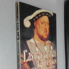 Libros de segunda mano: LAS TRES CORONAS / JEAN PLAIDY (VICTORIA HOLT) / EDICIONES B 1ª EDICIÓN 1994. Lote 162770834