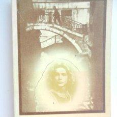 Libros de segunda mano: LA MUERTE EN VENECIA - MANN, TOMAS - ED. EDHASA 1978. . Lote 162933370