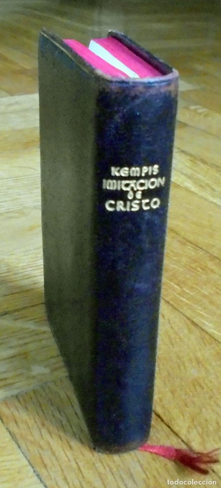 "CRISOL 57. ESPECIAL, OBRAS MORALES O RELIGIOSAS. EDICION ""B""- IMITACIÓN DE CRISTO, AGUILAR.1946 (Libros de Segunda Mano (posteriores a 1936) - Literatura - Narrativa - Otros)"