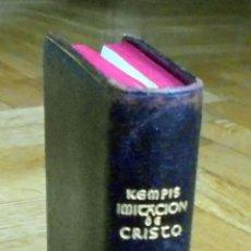 "Libros de segunda mano: CRISOL 57. ESPECIAL, OBRAS MORALES O RELIGIOSAS. EDICION ""B""- IMITACIÓN DE CRISTO, AGUILAR.1946. Lote 163081274"