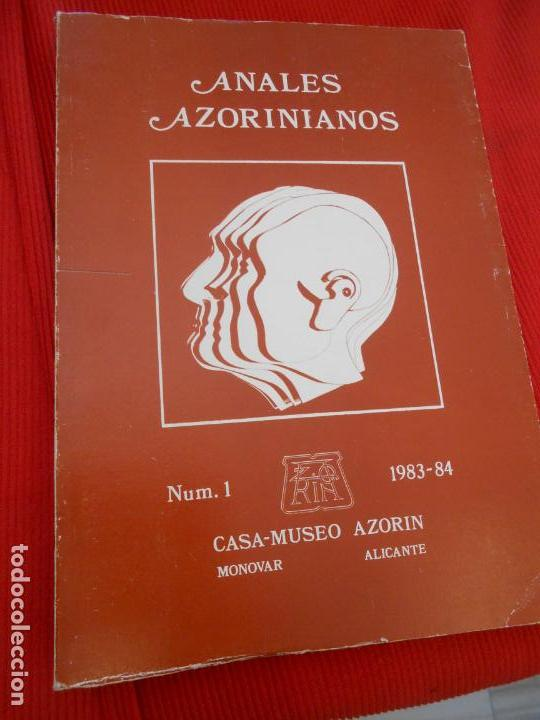 ANALES AZORINIANOS (Libros de Segunda Mano (posteriores a 1936) - Literatura - Narrativa - Otros)