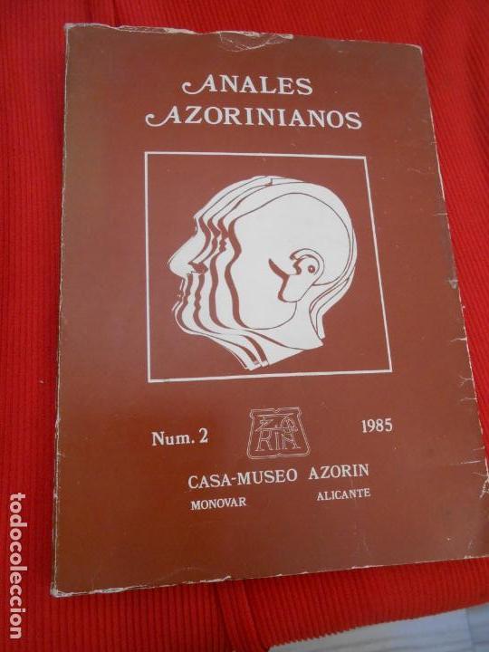 ANALES AZORINIANOS TOMO 2 (Libros de Segunda Mano (posteriores a 1936) - Literatura - Narrativa - Otros)