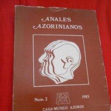 Gebrauchte Bücher - ANALES AZORINIANOS TOMO 2 - 163344526