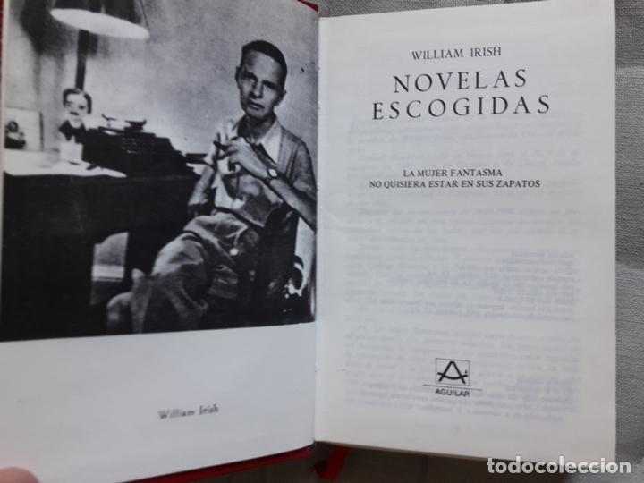 Libros de segunda mano: WILLIAM IRISH, NOVELAS ESCOGIDAS- Aguilar - Foto 2 - 163954326