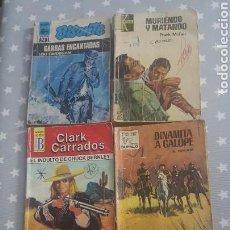 Libros de segunda mano: LOTE 6 NOVELAS.CLARK CARRADOS-L.CARRIGAN-KEIT LUGER-F.MCFAIR-A.ROLCEST. Lote 163993634