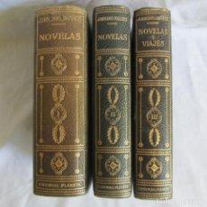 Libros de segunda mano: JOHN DOS PASOS, NOVELAS Y VIAJES, 3 TOMOS. EDITORIAL PLANETA. Lote 164217090