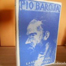 Libros de segunda mano: LA GUERRA CIVIL EN LA FRONTERA / PIO BAROJA / CARO RAGGIO. Lote 165238122