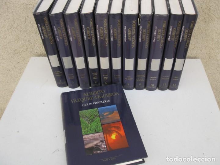 Libros de segunda mano: OBRAS COMPLETAS - ALBERTO VÁZQUEZ-FIGUEROA - 12 LIBROS - OBRA COMPLETA - PLAZA & JANÉS - AÑO 1989. - Foto 3 - 165502334
