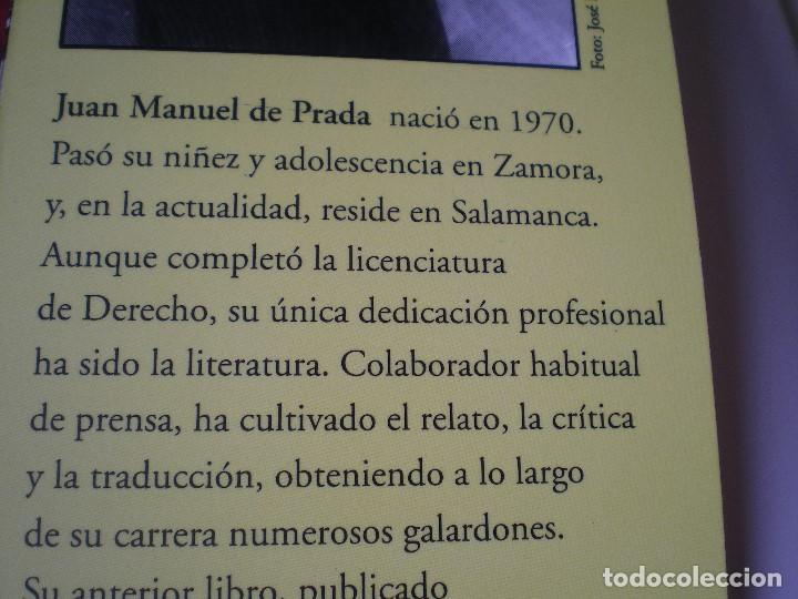 Libros de segunda mano: EL SILENCIO DEL PATINADOR. JUAN MANUEL DE PRADA. EL CLUB DIÓGENES. VALDEMAR. NUEVO - Foto 4 - 165741162