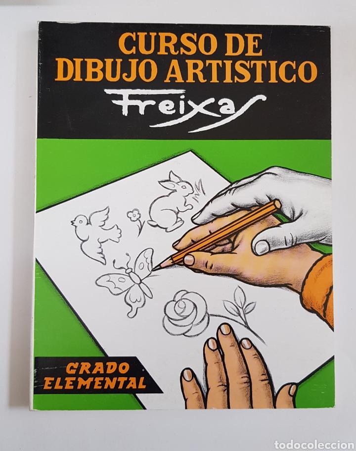 CURSO DE DIBUJO ARTÍSTICO FREIXAS. GRADO ELEMENTAL - TDK29 (Libros de Segunda Mano (posteriores a 1936) - Literatura - Narrativa - Otros)