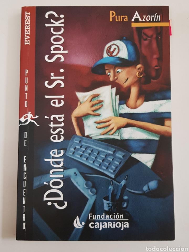 DONDE ESTÁ EL SR.SPOCK - AZORÍN,PURA - TDK29 (Libros de Segunda Mano (posteriores a 1936) - Literatura - Narrativa - Otros)