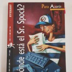 Libros de segunda mano: DONDE ESTÁ EL SR.SPOCK - AZORÍN,PURA - TDK29. Lote 165758278