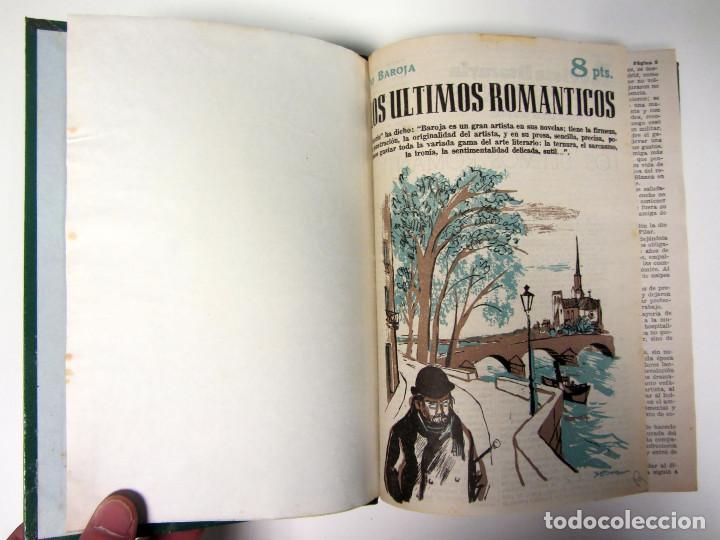 Libros de segunda mano: Revista literaria Novelas y Cuentos. 454 números en 46 tomos. de 1950 a 1965. Encuadernación de lujo - Foto 4 - 166112058