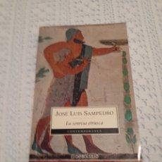 Libros de segunda mano: SONRISA ETRUSCA JOSÉ LUIS SAMPEDRO. Lote 166303004