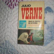 Libros de segunda mano: VIAJE AL CENTRO DE LA TIERRA;JULIO VERNE;BRUGUERA 1970. Lote 166383630
