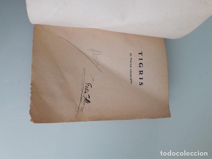 Libros de segunda mano: TIGRIS Nº 16 - MARCEL ALLAIN - EL TERCER ESQUELETO - Prensa Moderna - Madrid - Foto 2 - 166391082
