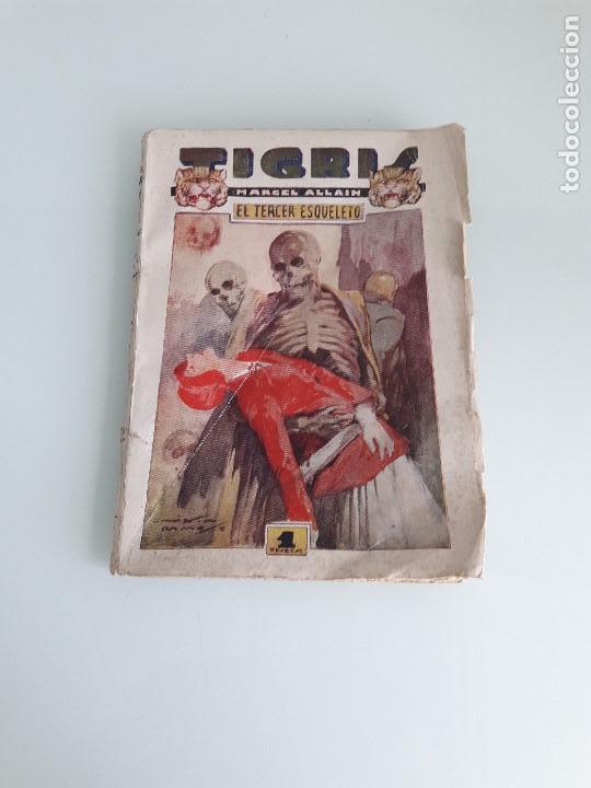 TIGRIS Nº 16 - MARCEL ALLAIN - EL TERCER ESQUELETO - PRENSA MODERNA - MADRID (Libros de Segunda Mano (posteriores a 1936) - Literatura - Narrativa - Otros)