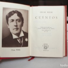 Libros de segunda mano: CUENTOS OSCAR WILDE COLECCION CRISOL Nº 16 AGUILAR BUEN ESTADO AÑO 1944.. Lote 166638506