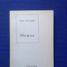 Libros de segunda mano: OCNOS LUIS CERNUDA. Lote 166677954