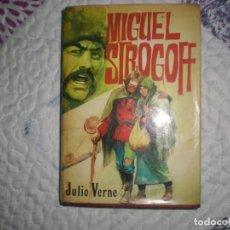Libros de segunda mano: MIGUEL STROGOFF;JULIO VERNE;PETRONIO 1973. Lote 166695206