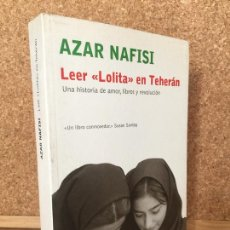 Libros de segunda mano: LEER LOLITA EN TEHERAN - AZAR NAFISI - EL ALEPH - BUEN ESTADO - GCH. Lote 167017772