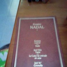 Libros de segunda mano: PREMIOS NADAL 1. DESTINO. NADA. TAPIA. EL CASA. UN HOMBRE. EST14B3. Lote 167533260