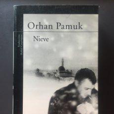 Libros de segunda mano: NIEVE - ORHAN PAMUK - ALFAGUARA. Lote 167663788