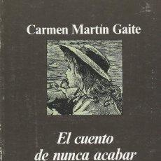 Libros de segunda mano: EL CUENTO DE NUNCA ACABAR, CARMEN MARTÍN GAITE -IL. POR FCO. NIEVA-. Lote 222321221