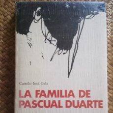 Libros de segunda mano: LA FAMILIA DE PASCUAL DUARTE, CELA. EDICION DE LUJO ILUSTRADA, CÍRCULO DE LECTORES.PRECINTADO.. Lote 167980040