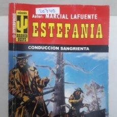 Gebrauchte Bücher - 20740 - NOVELAS DEL OESTE - ESTEFANIA - COLECCION BRONCO OESTE - CONDUCCION SANGRIENTA - Nº 420 - 168032008