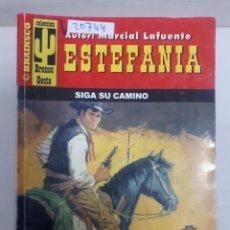 Libros de segunda mano: 20744 - NOVELAS DEL OESTE - ESTEFANIA - COLECCION BRONCO OESTE - SIGA SU CAMINO - Nº 134. Lote 168032196